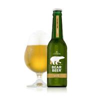 有券的上:BearBeer 豪铂熊 拉格啤酒 330ml*6瓶