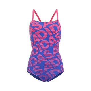 adidas 阿迪达斯 Adidas阿迪达斯 女款小胸聚拢性感显瘦运动连体三角泳衣