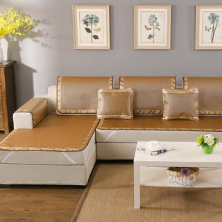 移动端 : 布拉塔 夏季沙发垫 凉席垫子 冰藤深色 60*180cm