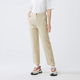 Semir 森马 夏季新款合体直筒长裤学生简约纯色裤子潮流女士休闲长裤女