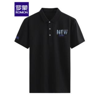 ROMON 罗蒙 1T091119-A 男士短袖POLO衫