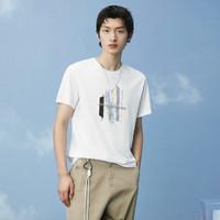 HLA 海澜之家 HNTBJ2D188AJ8 男士T恤