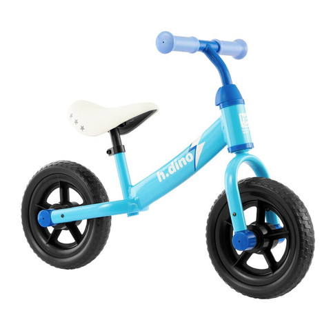 小龙哈彼 儿童自行车 男女款 小孩 滑行车 滑步车 平衡车 蓝色 LB1005-T125U