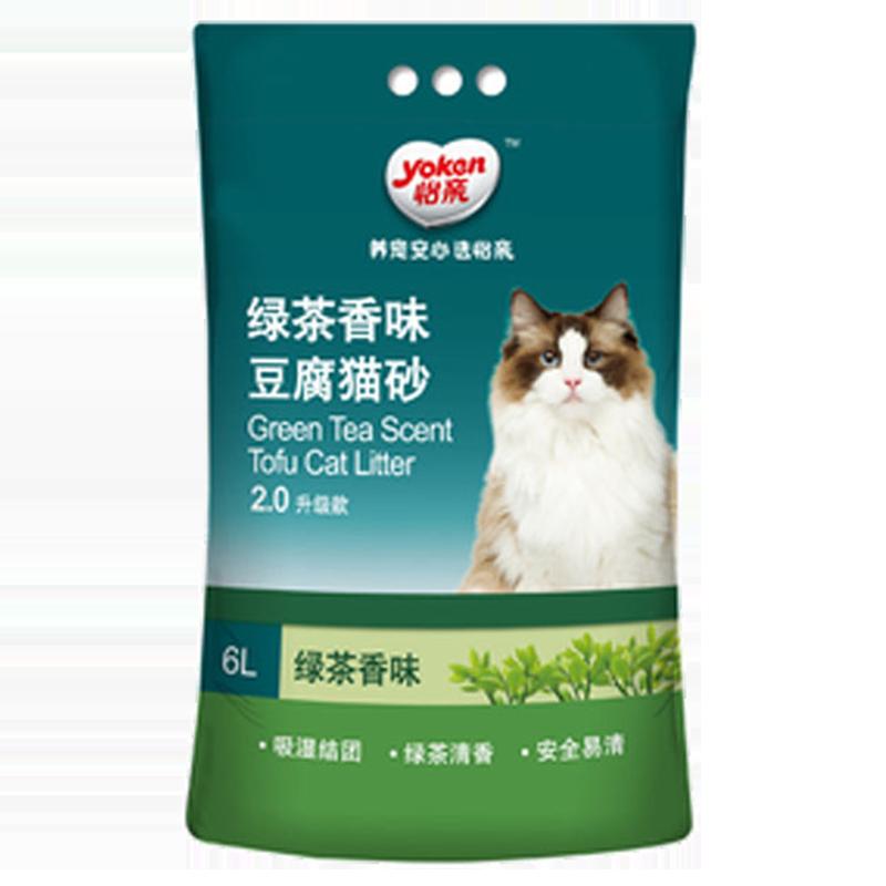 yoken 怡亲 绿茶豆腐猫砂 2.5kg