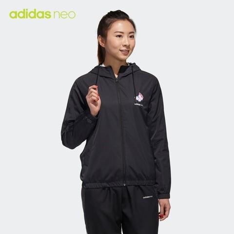 阿迪达斯官网 adidas neo W FAV SEP WB 女装秋季运动外套GP5848