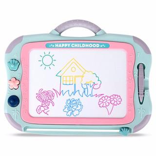 MingTa 铭塔 磁性大画板 儿童玩具彩色写字板 超大号 彩盒装