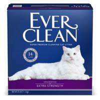 Ever Clean 铂钻 膨润土猫砂 蓝标 25磅