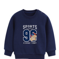 CLASSIC TEDDY 精典泰迪 儿童套头卫衣 96款 深蓝色 120cm