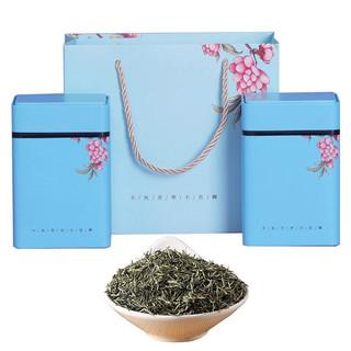 简小禾  高山绿茶 五峰原产茶叶 毛尖 礼盒装 100g*2罐