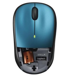 logitech 罗技 M215 2.4G 优联 无线鼠标 1000DPI 蓝色