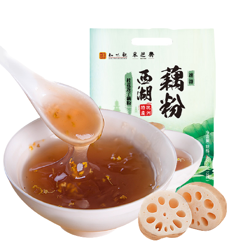 ZHIWEIGUAN 知味观 杭州西湖藕粉 400g