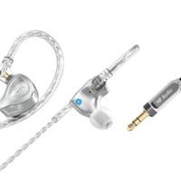 宁梵声学 NM2+ 入耳式挂耳式监听耳机 铝本色
