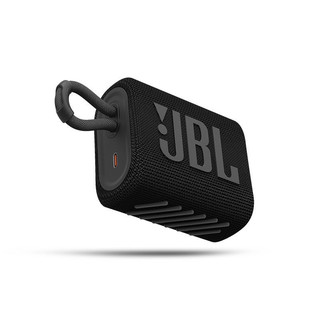 JBL 杰宝 GO3 音乐金砖三代 蓝牙音箱 黑色