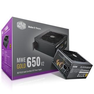 COOLER MASTER 酷冷至尊 MWE650 V2 金牌(90%)非模组ATX电源 650W