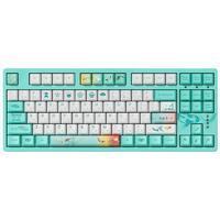 Akko 艾酷 3087 87键 有线机械键盘 莫奈之池 ttc金粉轴 无光