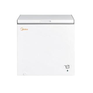 Midea 美的 203升 冷藏冷冻转换冰柜 家商两用大冷柜 一级能效 单温母婴卧式冰箱 以旧换新 BD/BC-203KM(E)