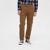 Gap 盖璞 618933 男士简约风格纯色中腰直筒休闲裤