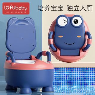 LAFU BABY 拉夫宝贝 儿童马桶坐便器男孩女孩婴儿女宝宝小孩幼儿尿盆大号厕所便盆家用