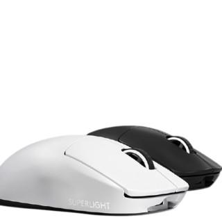 logitech 罗技 PRO X SUPERLIGHT 2.4G无线鼠标 25600DPI 白色