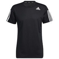 adidas 阿迪达斯 AERO3S TEE PB 男子运动T恤 GQ2159 黑色 L