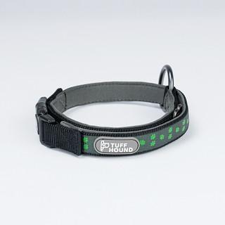 TUFFHOUND 大中小型犬夜间反光项圈 23-32cm