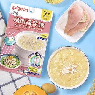 pigeon 贝亲 婴幼儿辅食粥