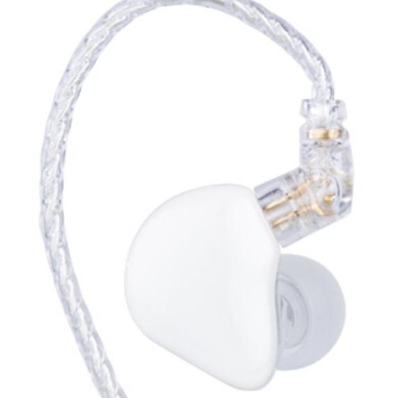 天天动听 TINHIFI T1 PLUS镀铍振膜单元入耳式耳机 hifi耳机 运动休闲耳机 有线耳机 月光白