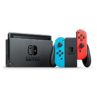 Nintendo 任天堂 日版 Switch 游戏主机 续航增强版 红蓝