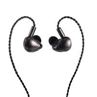 天天动听 T5 入耳式挂耳式有线耳机 黑色 3.5mm