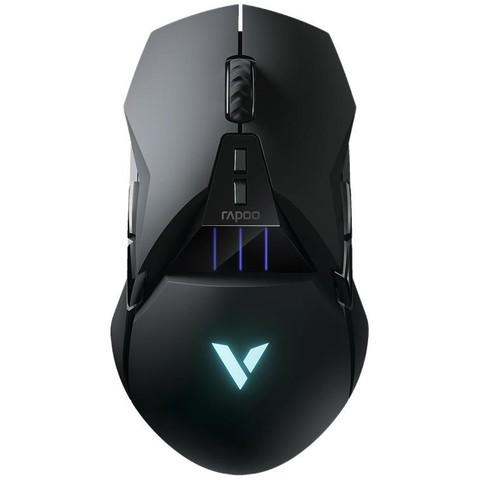 RAPOO 雷柏 Rapoo) VT950C 有线鼠标 无线鼠标 游戏鼠标 11个可编程按键 充电鼠标 吃鸡鼠标 电竞鼠标 黑色