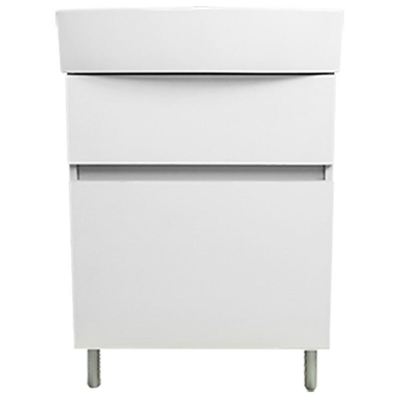 KOHLER 科勒 玲纳系列 K-75836T-W3D K-21816T-1-0 75853T-NA 洗手盆柜组合 60cm 暖白色