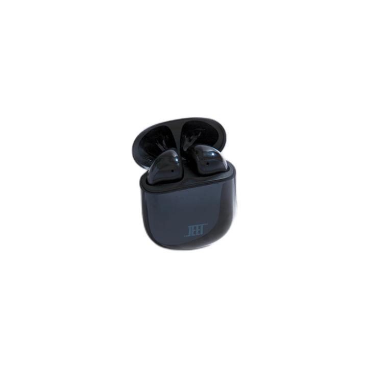 JEET 泰捷耳机 ONE 升级版 半入耳式真无线蓝牙耳机 墨黑色