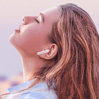 小度 S1 半入耳式真无线蓝牙耳机 白浪夏夏