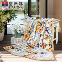 FUANNA 富安娜 单层法兰绒毯盖毯 80*120cm