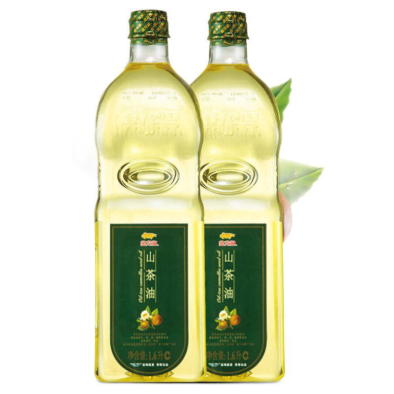 金龙鱼 山茶油 1.6L*2瓶