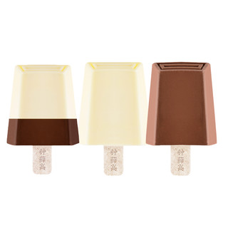 Chicecream 钟薛高 高丝绒可可牛奶巧克力口味 6支和轻牛奶乳雪糕 6支组合装 (12支)