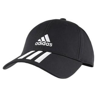 adidas 阿迪达斯 Bball 3s Cap Ct 中性运动帽子 FK0894 黑色 OSFM