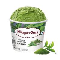 PLUS会员:Häagen·Dazs 哈根达斯 抹茶口味 冰淇淋 100ml