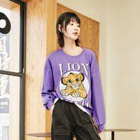 ONLY 迪士尼狮子王合作款 120402015F38 女士t恤