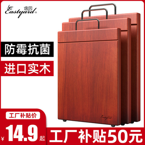 YiYuan 逸园 铁木切菜板子实木家用砧板抗菌防霉木质厨房占粘面案板剁肉小宿舍
