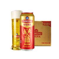 TSINGTAO 青岛啤酒 千禧临门10度 500ml*6听