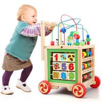 NEWQIDA 新奇达 婴儿大绕珠学步车 +六面体