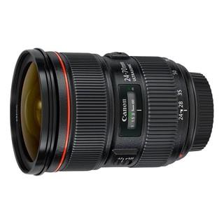 Canon 佳能 EF 24-70mm F2.8L II USM 标准变焦镜头 黑色 佳能EF卡口 82mm