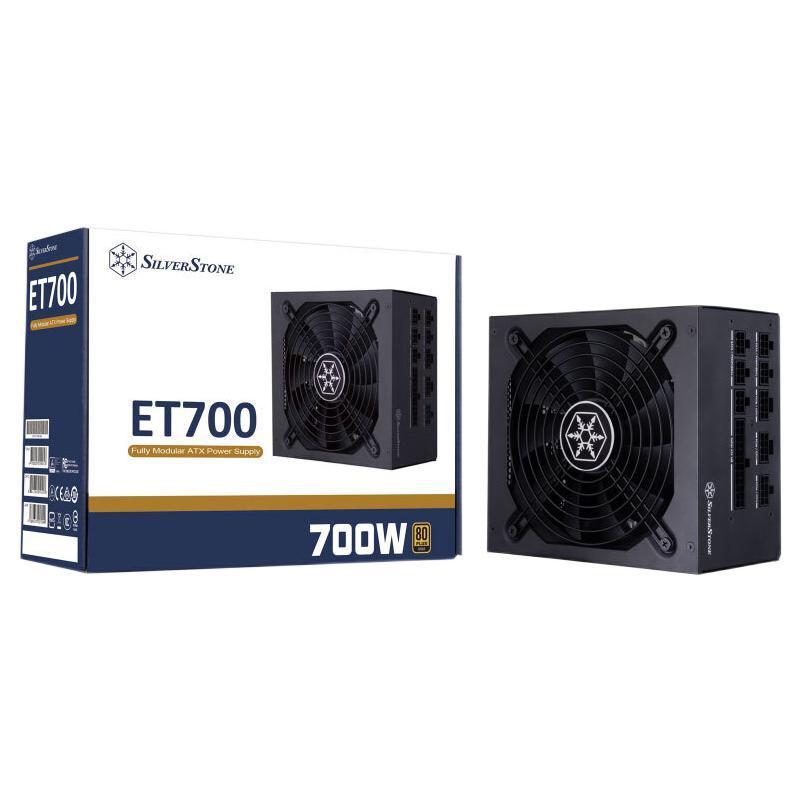 Silver Stone 银欣 Essential游侠 ET700-MG 金牌(90%)全模组ATX电源 700W