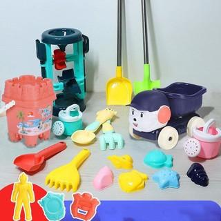 哦咯 儿童沙滩玩具套装戏水挖沙铲沙滩桶