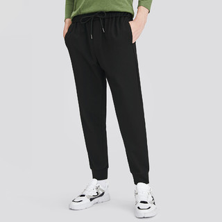 CAMEL 骆驼 2021夏季新款时尚潮牌小脚运动裤抽绳松紧长裤子男士休闲裤