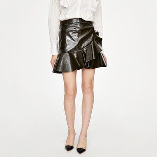URBAN REVIVO WG06S5AN2001 女士A型半身短裙