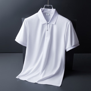 CJZ 简约纯色polo衫短袖男2021夏款潮牌潮流商务休闲翻领男士t恤上衣