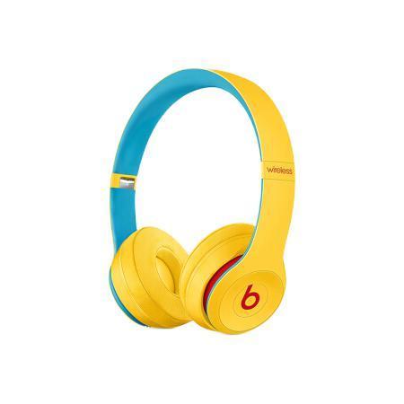 Beats Solo3 压耳式颈挂式蓝牙耳机 黄色
