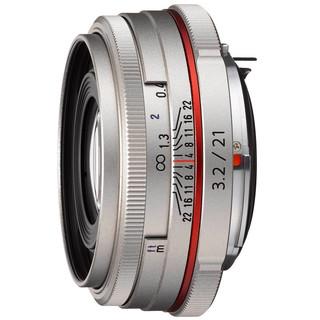 PENTAX HD 宾得 DA 21mm F3.2 AL LIMITED 广角定焦镜头 宾得卡口 银色